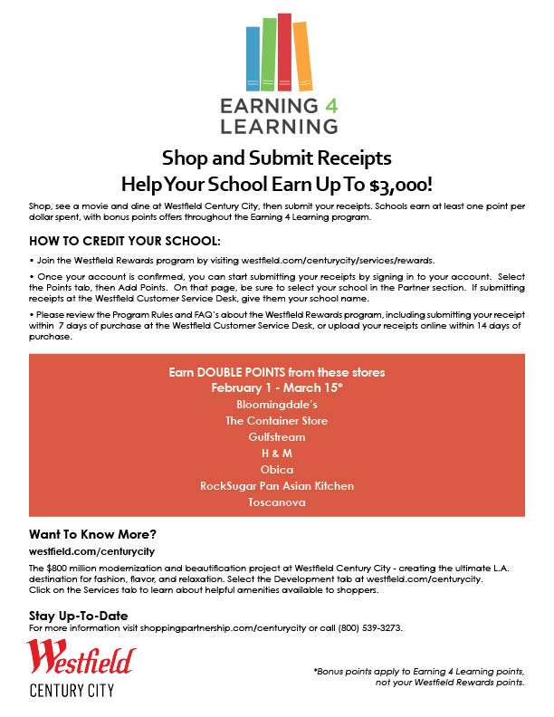 Earning 4 Learning